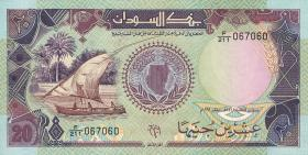 Sudan P.47 20 Pounds 1991 (1)