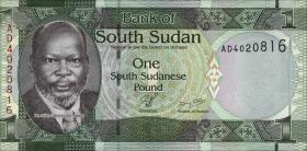Süd Sudan / South Sudan P.05 1 Pound 2011 (1)