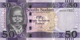 Süd Sudan / South Sudan P.14b 50 Südsudanesische Pfund 2017 (1)