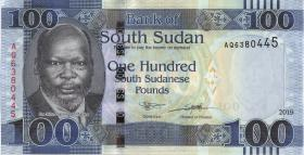 Süd Sudan / South Sudan P.neu 100 Südsudanesische Pfund 2019 (1)
