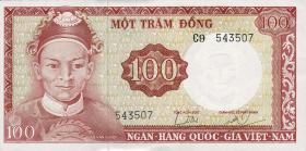 Südvietnam / Viet Nam South P.019b 100 Dong (1966) (1/1-)