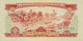 Südvietnam / Viet Nam South P.040a 1 Dong 1966 (1975) (1)