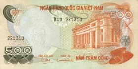 Südvietnam / Viet Nam South P.028 500 Dong (1970) (1)