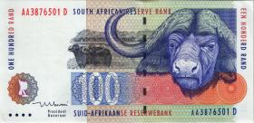 Südafrika / South Africa P.126b 100 Rand (1999) (1)