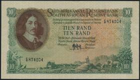 Südafrika / South Africa P.107a 10 Rand (1961) (Afrikaans) (3+)