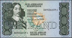 Südafrika / South Africa P.120d 10 Rand (1985-90) (1)