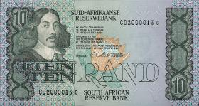 Südafrika / South Africa P.120e 10 Rand (1985-90) (1)