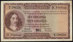 Südafrika / South Africa P.090a 10 Shillings 1948 (Englisch) (1)