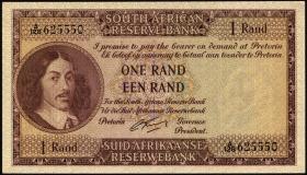 Südafrika / South Africa P.102b 1 Rand (1962-65) (Englisch) (1)