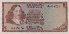 Südafrika / South Africa P.110b 1 Rand (1967) (1)