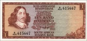 Südafrika / South Africa P.116b 1 Rand (1973-75) (1)