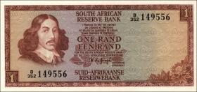 Südafrika / South Africa P.115b 1 Rand (1975) (1)