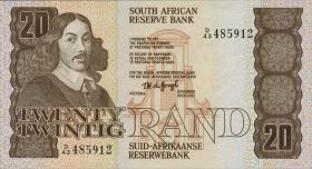 Südafrika / South Africa P.121a 20 Rand (1981) (1)