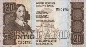 Südafrika / South Africa P.121c 20 Rand (1982-85) (1)