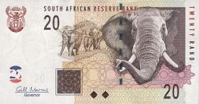 Südafrika / South Africa P.129b  20 Rand (2010) (1)