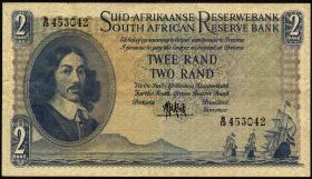 Südafrika / South Africa P.105a 2 Rand (1961) (3)