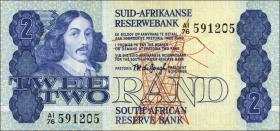 Südafrika / South Africa P.118a 2 Rand (1981) (1)