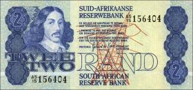 Südafrika / South Africa P.118c 2 Rand (1981-83) (1)