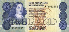 Südafrika / South Africa P.118d 2 Rand (1983-90) (1)