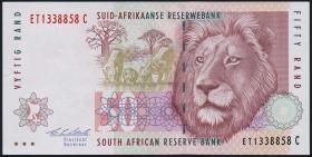 Südafrika / South Africa P.125a 50 Rand (1992) (1/1-)
