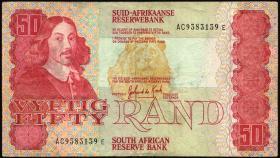 Südafrika / South Africa P.122a 50 Rand (1984) (3)