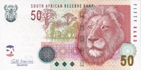 Südafrika / South Africa P.130b  50 Rand (2005) (1)