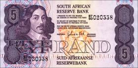 Südafrika / South Africa P.119c 5 Rand (1981-89) (1)