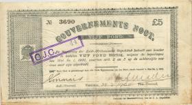 Südafrika / South Africa P.055 5 Pounds 1900 (3)