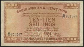 Südafrika / South Africa P.082e 10 Shillings 1945 (4)