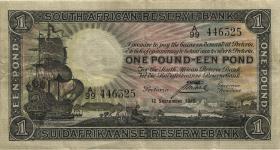 Südafrika / South Africa P.084e 1 Pound 1940 (3)
