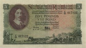 Südafrika / South Africa P.096c 5 Pounds 12.6.1956 (Englisch) (1/1-)