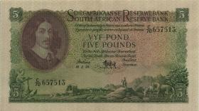 Südafrika / South Africa P.097c 5 Pounds 18.2.1959 (Afrikaans) (1/1-)