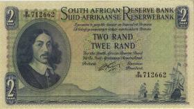Südafrika / South Africa P.104b 2 Rand (1962-65) (Englisch) (1/1-)