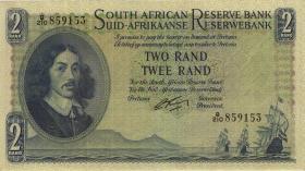 Südafrika / South Africa P.104b 2 Rand (1962-65) (Englisch) (2)