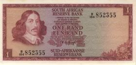 Südafrika / South Africa P.109b 1 Rand (1967) (1-)