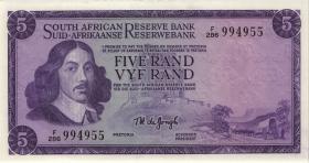 Südafrika / South Africa P.111c 5 Rand (1975) (Englisch) (1)