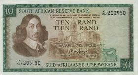 Südafrika / South Africa P.113c 10 Rand (1975) (Englisch) (1)