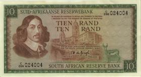 Südafrika / South Africa P.114b 10 Rand (1967-74) (1/1-)