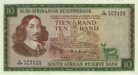 Südafrika / South Africa P.114c 10 Rand (1975) (Afrikaans) (1-)