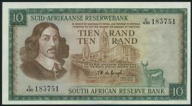 Südafrika / South Africa P.114c 10 Rand (1975) (Afrikaans) (1)
