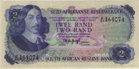 Südafrika / South Africa P.117a 2 Rand (1974-76) (2)