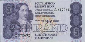 Südafrika / South Africa P.119a 5 Rand (1978-81) (1)