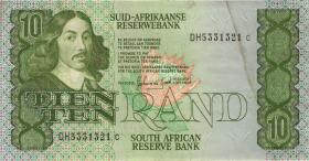Südafrika / South Africa P.120d 10 Rand (1985-90) (3)