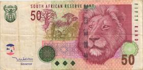 Südafrika / South Africa P.130a 50 Rand (2005) (3)