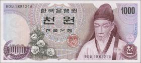 Südkorea / South Korea P.44 1000 Won (1975) (1)