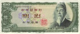 Südkorea / South Korea P.38A 100 Won (1965) (2)