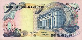 Südvietnam / Viet Nam South P.029 1000 Dong (1971) (1)