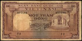 Südvietnam / Viet Nam South P.018 100 Dong (1966) (4)