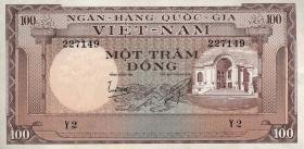 Südvietnam / Viet Nam South P.018 100 Dong (1966) (1)