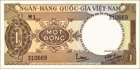 Südvietnam / Viet Nam South P.015 1 Dong (1964) (1)